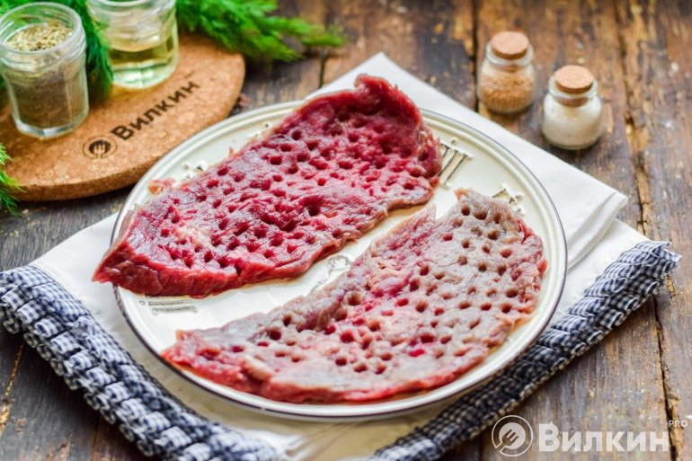Отбивание мяса