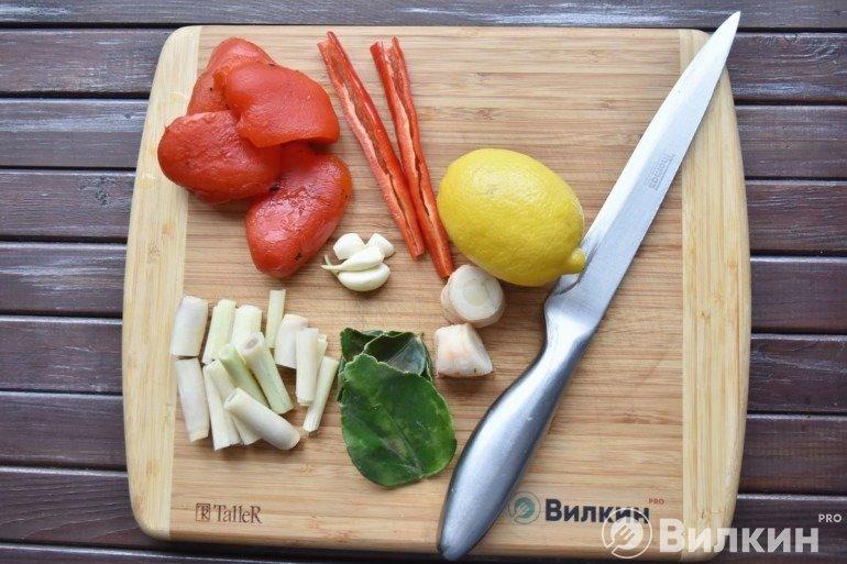 Подготовка остальных ингредиентов