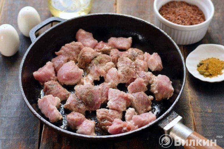 Жарка говядины