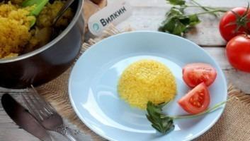 Рис по-турецки
