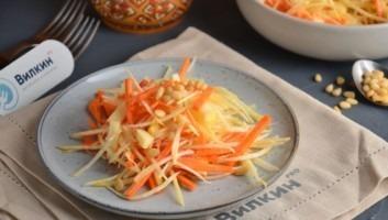 Салат из репы желтой