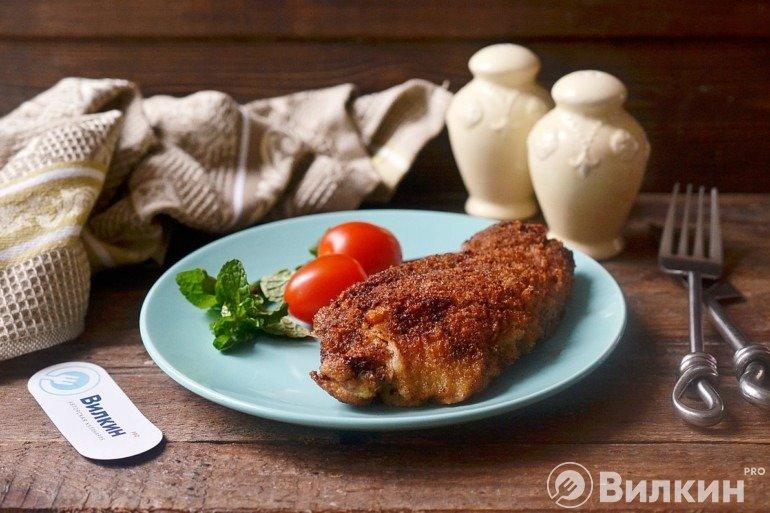 Шницель из говядины