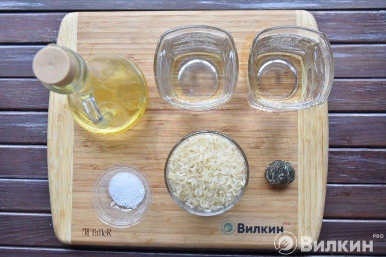 Продукты для приготовления риса