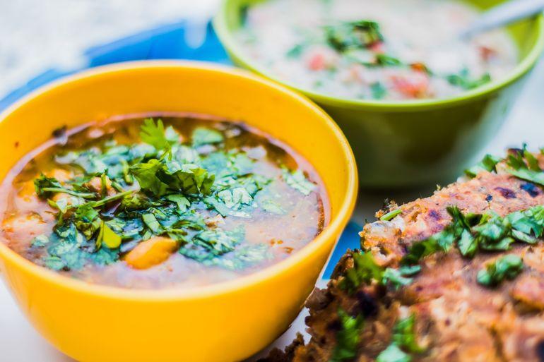 Индийский суп