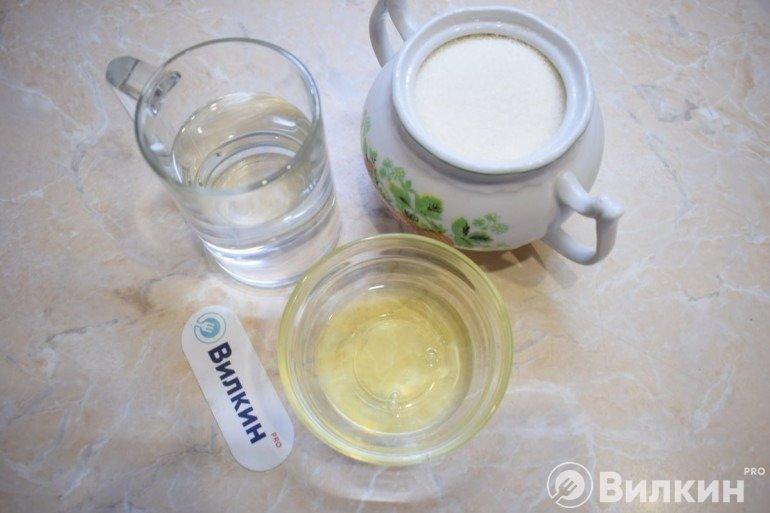 Продукты для белкового крема
