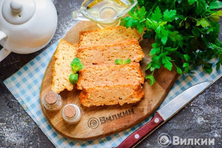 Запеканка из пшенной каши на завтрак