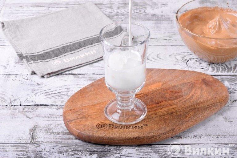 Молоко со льдом
