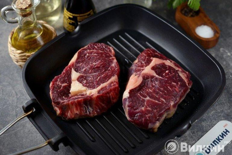 Стейки говядины