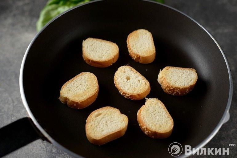 Обжаривание хлеба