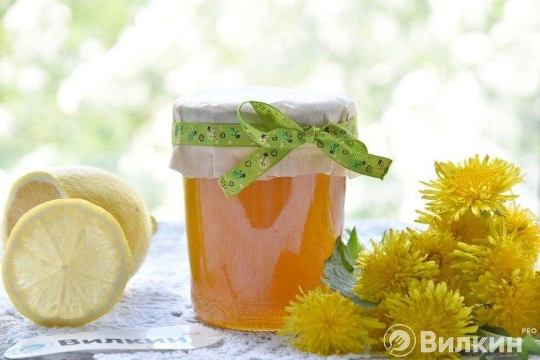 Домашний мед из одуванчиков