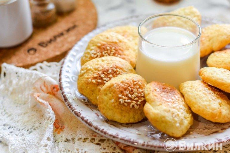 Простое и быстрое печенье дома