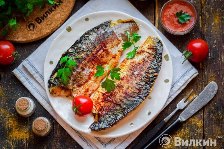 Запеченная рыбка на ужин