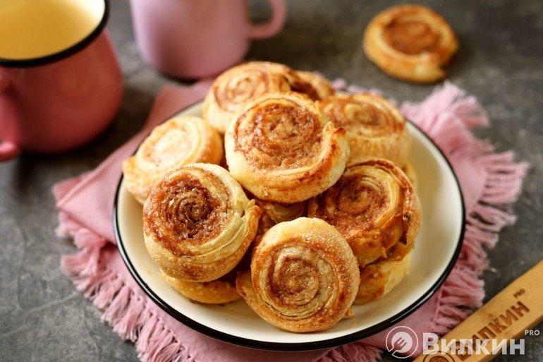 Печенье «Улитки» с корицей