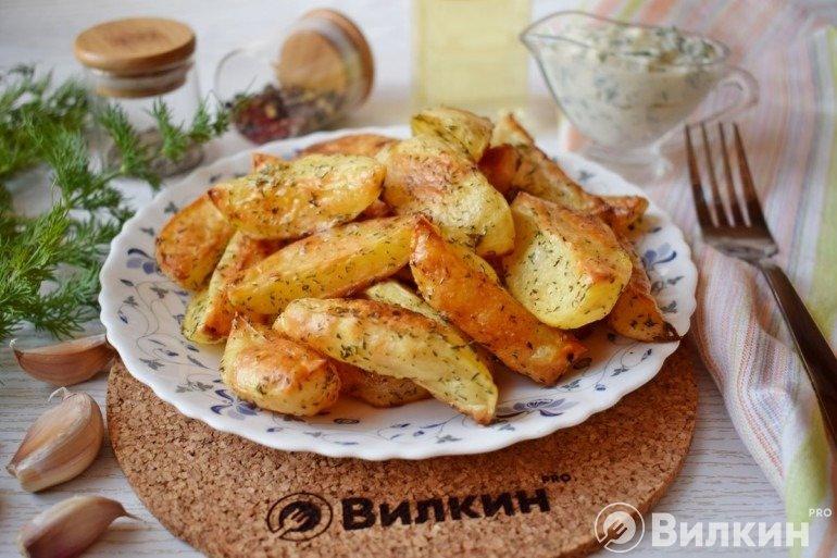 Запеченная картошка на ужин