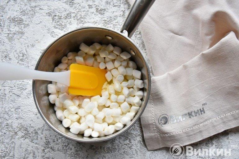 Маршмеллоу с маслом