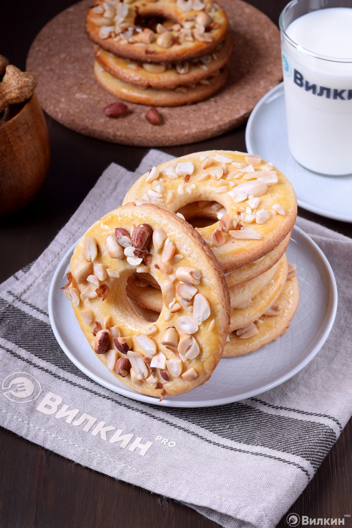 Кольца с орешками