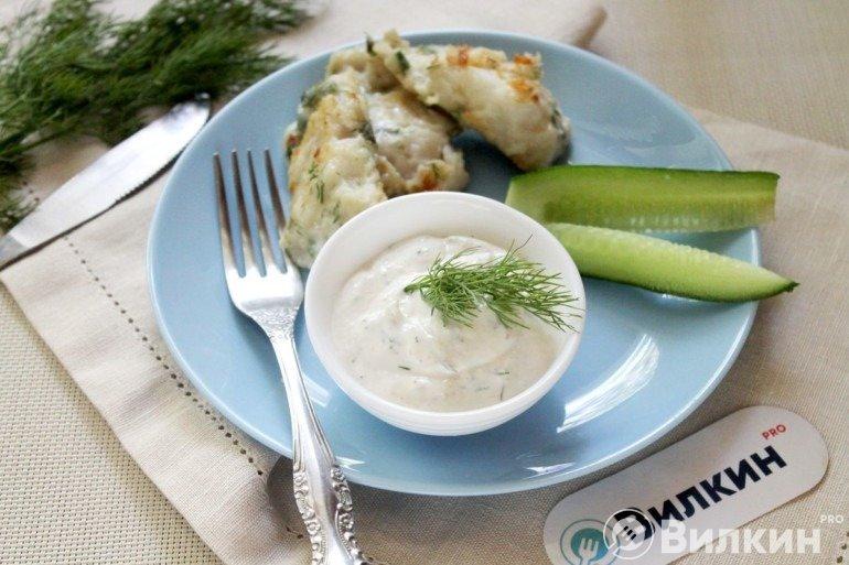 Сметанный соус для рыбы
