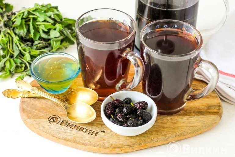 Чай из шелковицы