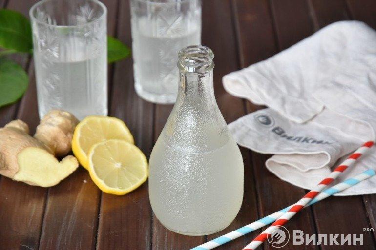 Бутылочка имбирного лимонада