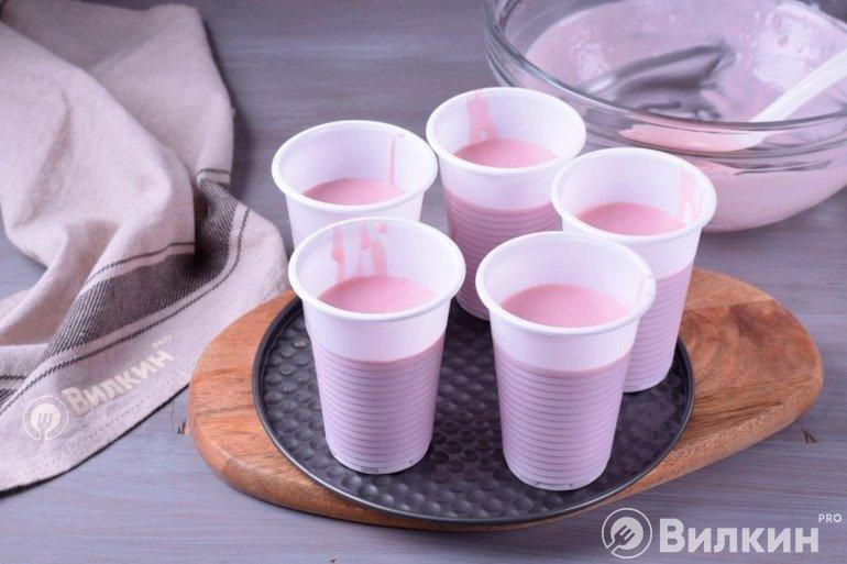 Разливка по стаканам