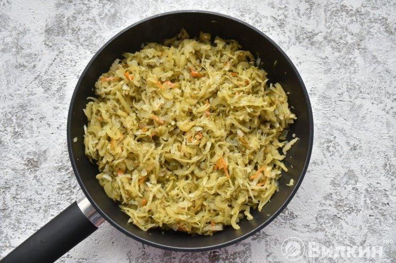 Томление овощей