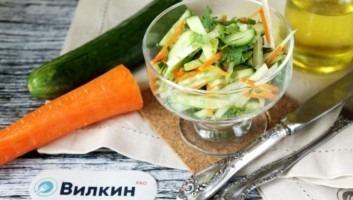 Салат с маргеланской редькой