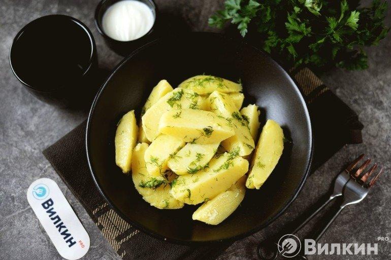 Отварной картофель: рецепт проще простого, справятся даже новички