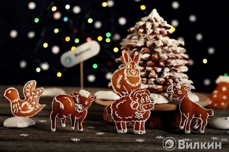 Пряничное печенье на праздники