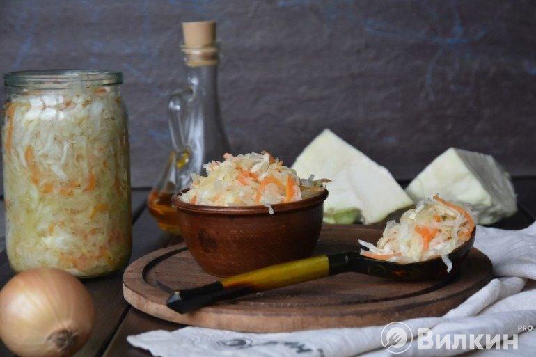 Квашеная капуста без уксуса — простой и бюджетный рецепт