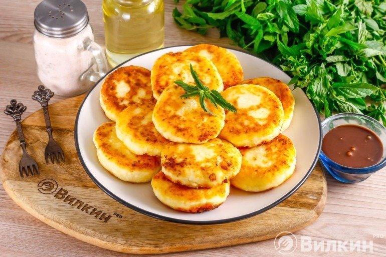 Сырники с кукурузным крахмалом (без муки): нежный десерт с золотистой корочкой