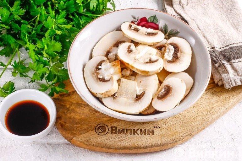 Слайсы грибов