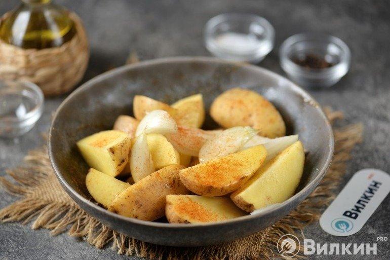 Маринование картофеля