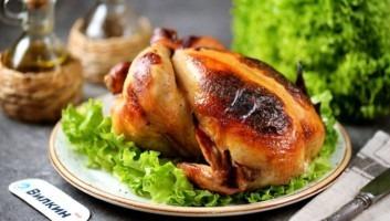 Курица в медово-горчичном маринаде