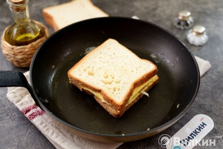 Накрывание вторым куском хлеба