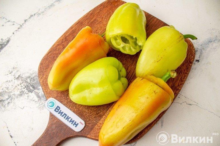 Подготовка перцев