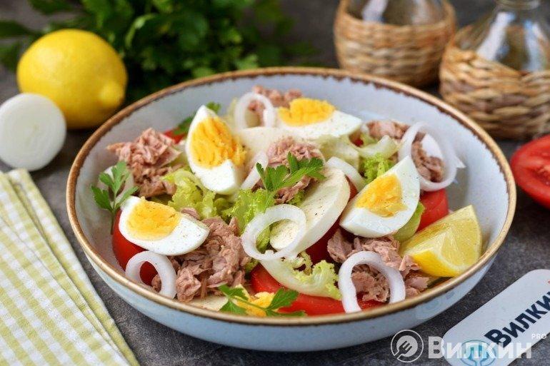 Готовый пп салат
